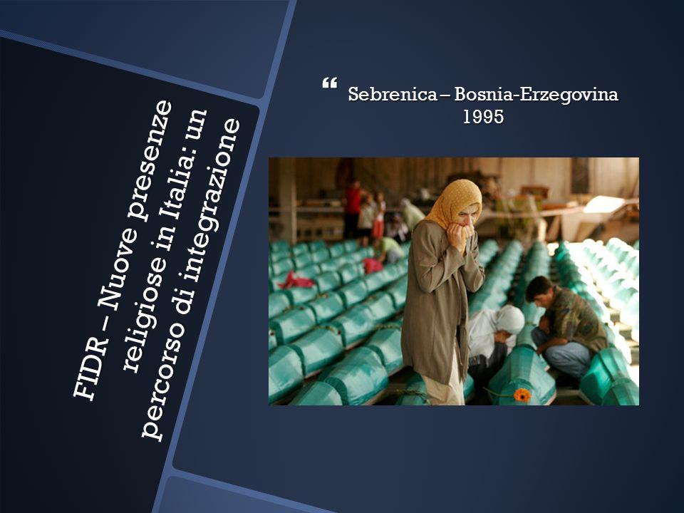 FIDR – Nuove presenze religiose in Italia: un percorso di integrazione
