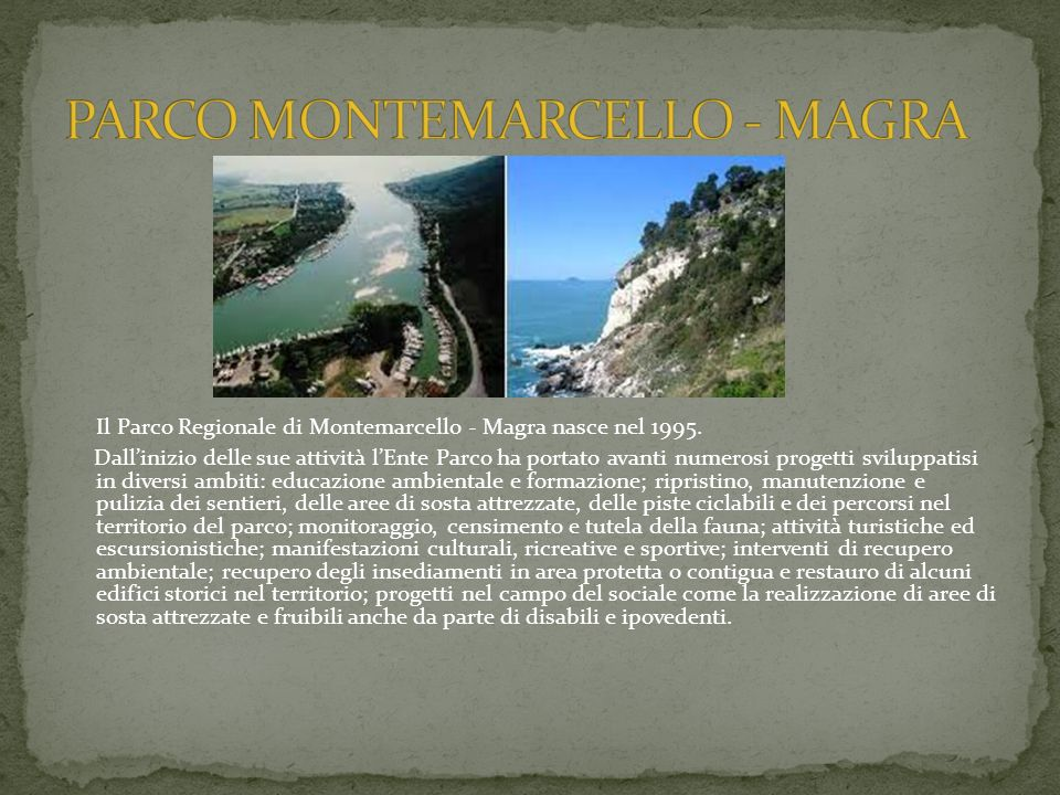 PARCO MONTEMARCELLO - MAGRA