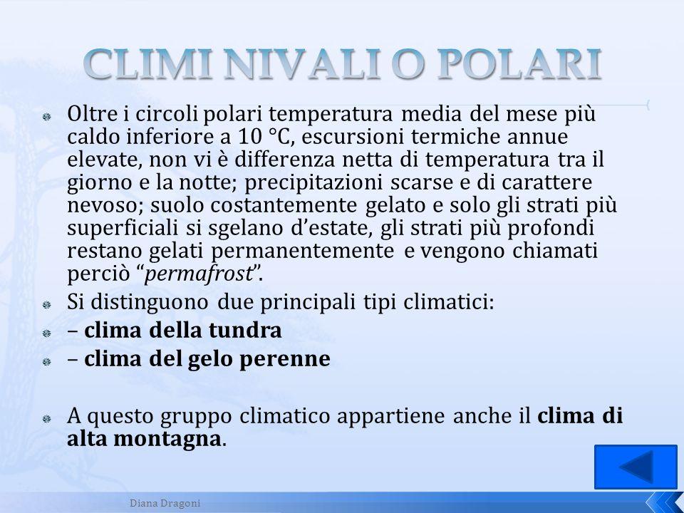 CLIMI NIVALI O POLARI