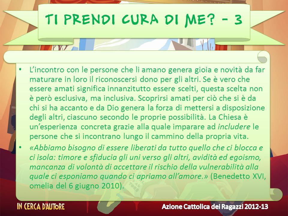 TI PRENDI CURA DI ME - 3