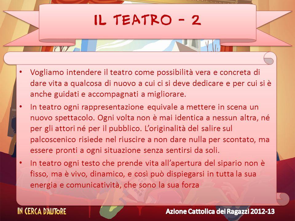 IL TEATRO - 2