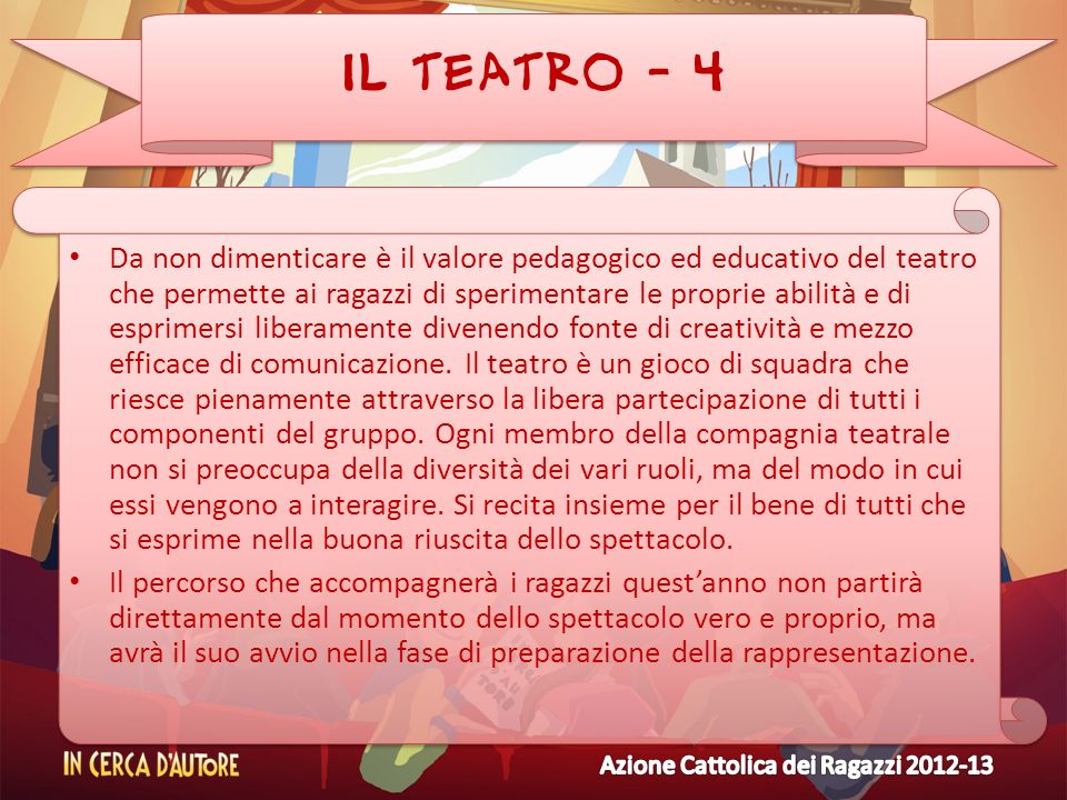 IL TEATRO - 4