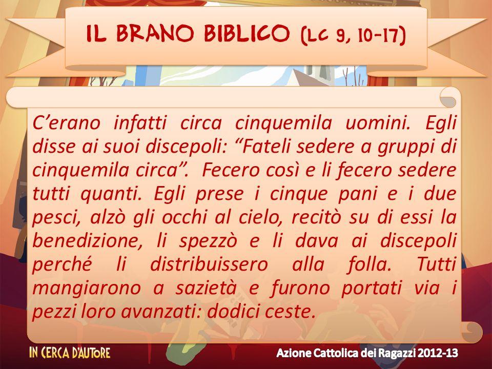 Il brano biblico (Lc 9, 10-17)