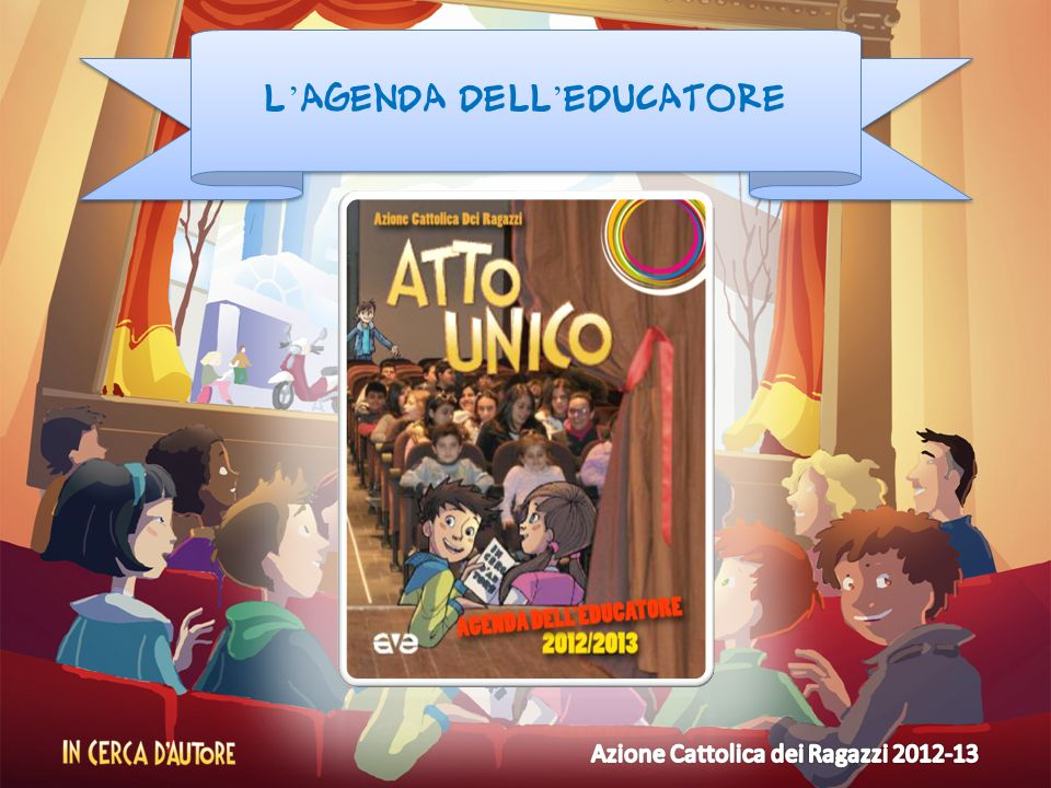 L'agenda dell'educatore