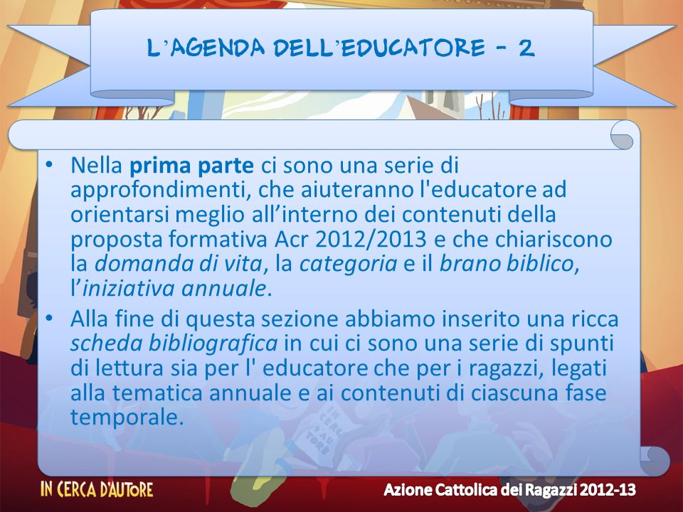 L'agenda dell'educatore - 2
