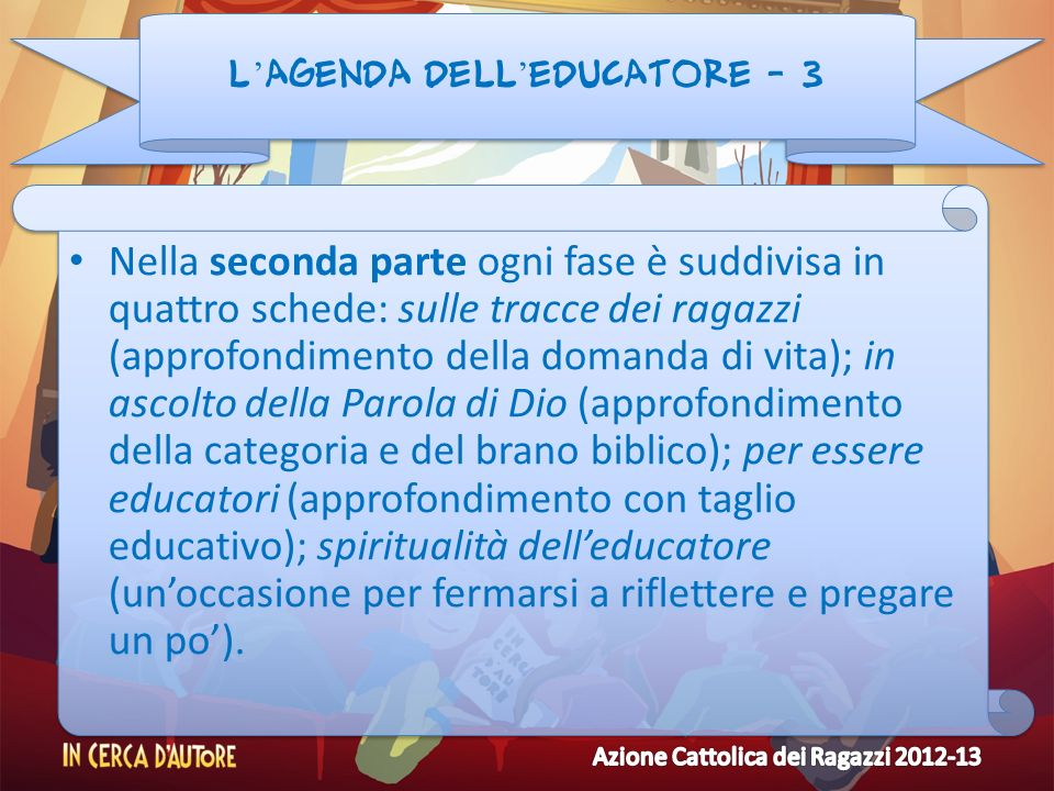 L'agenda dell'educatore - 3