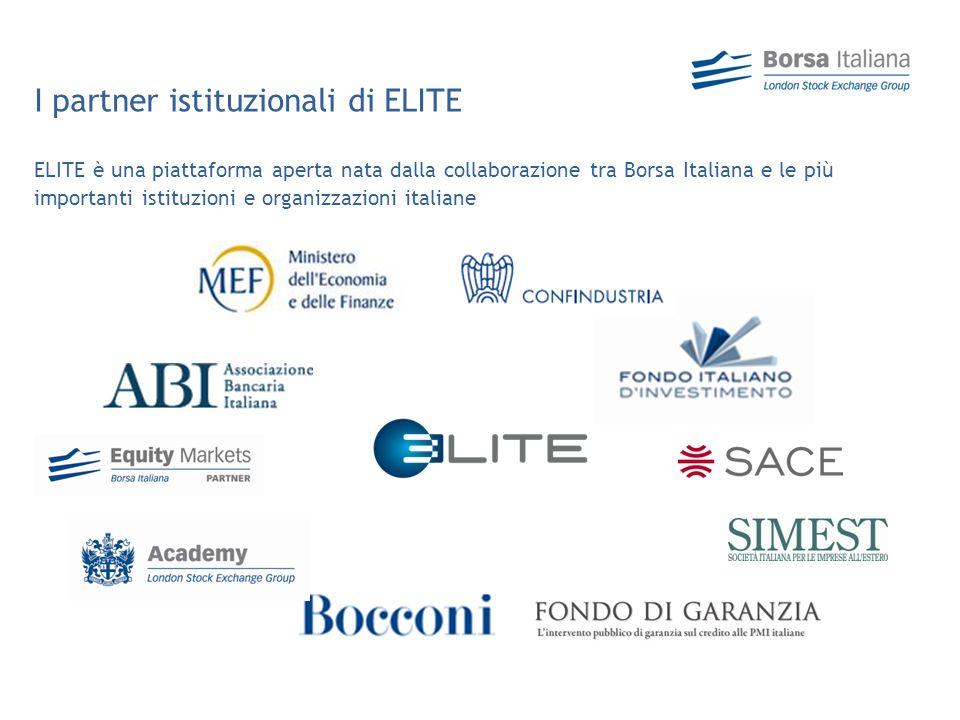 I partner istituzionali di ELITE