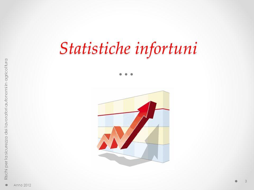 Statistiche infortuni