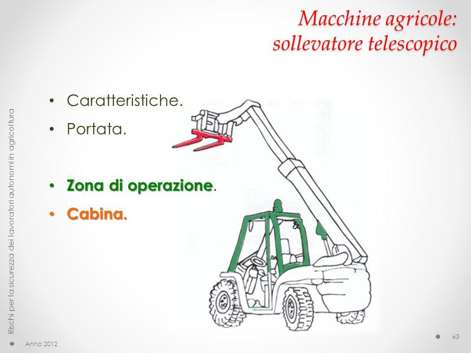 Macchine agricole: sollevatore telescopico