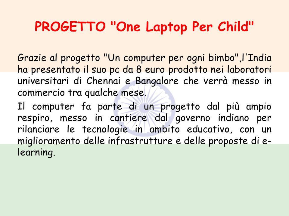 PROGETTO One Laptop Per Child