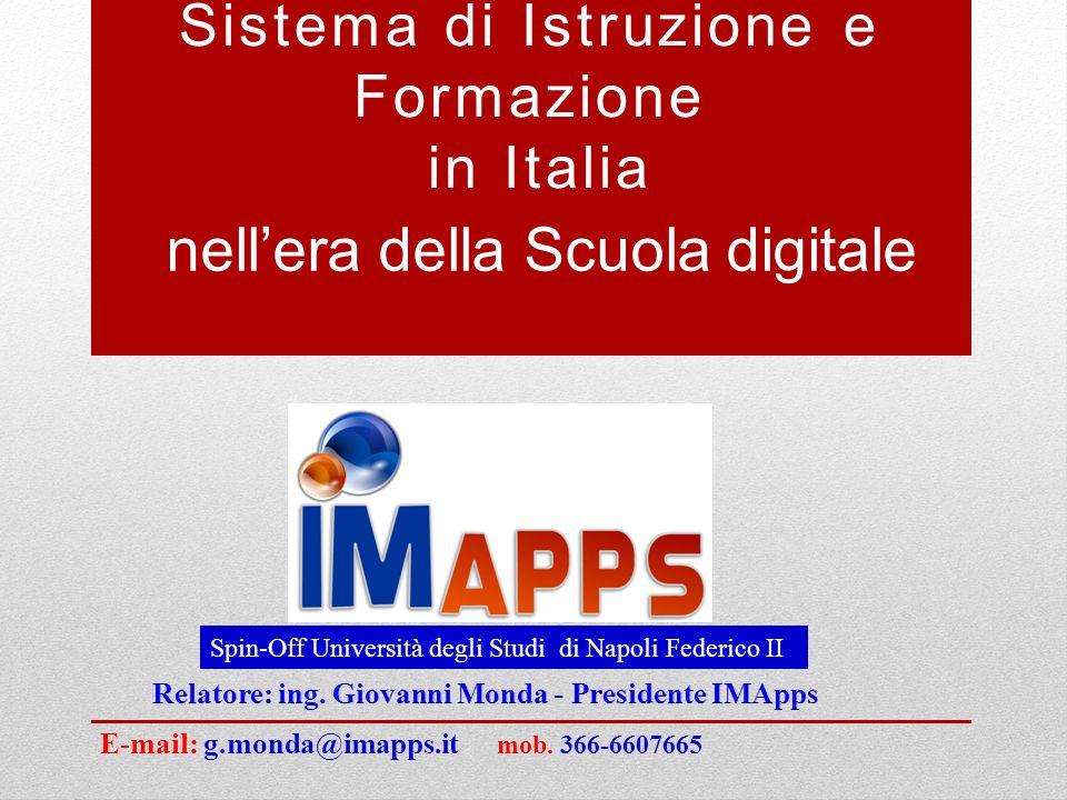 Sistema di Istruzione e Formazione in Italia