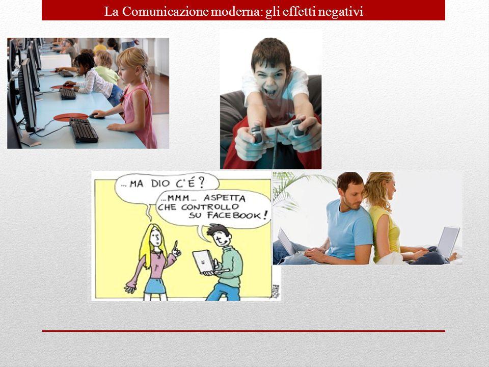La Comunicazione moderna: gli effetti negativi