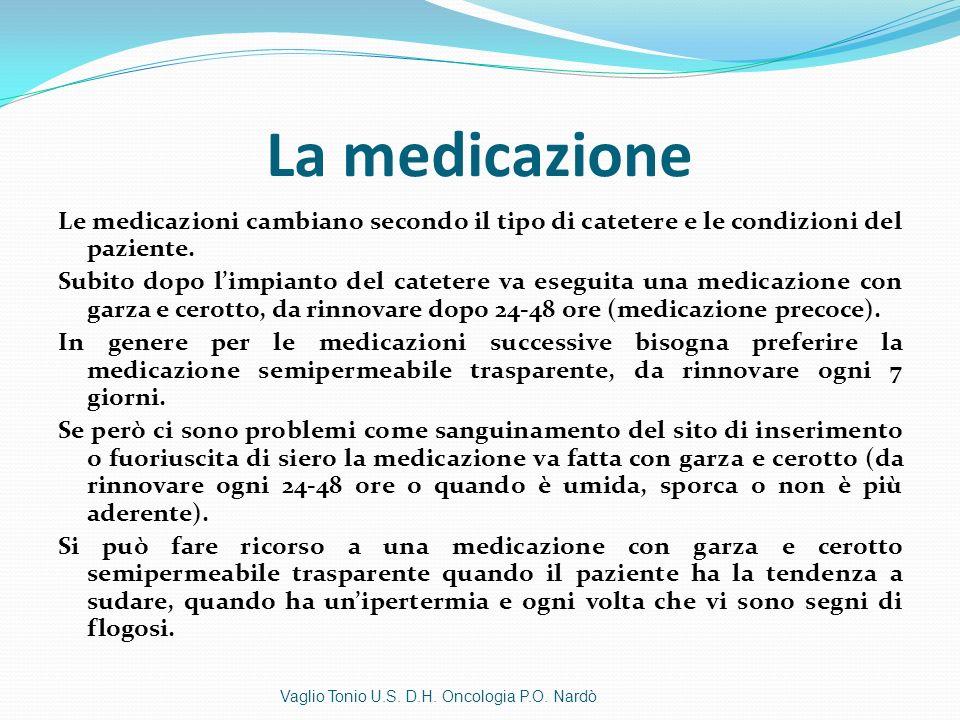 La medicazione