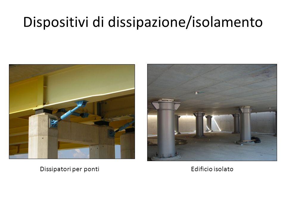 Dispositivi di dissipazione/isolamento