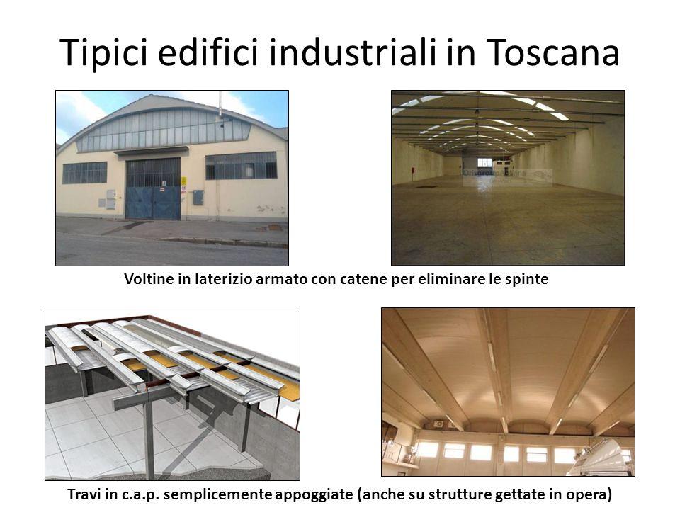 Tipici edifici industriali in Toscana