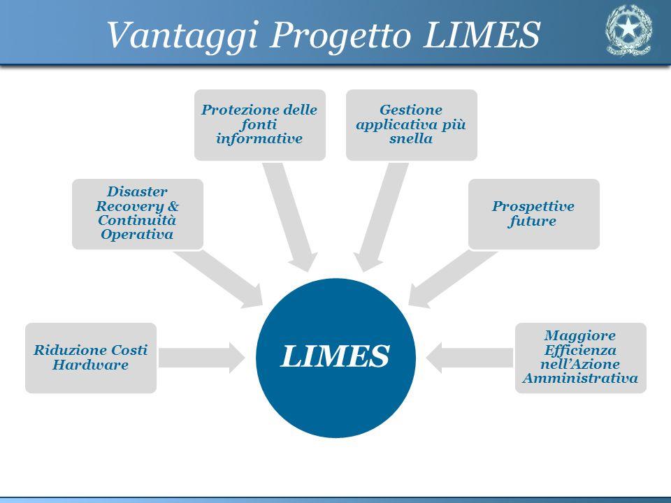 Vantaggi Progetto LIMES