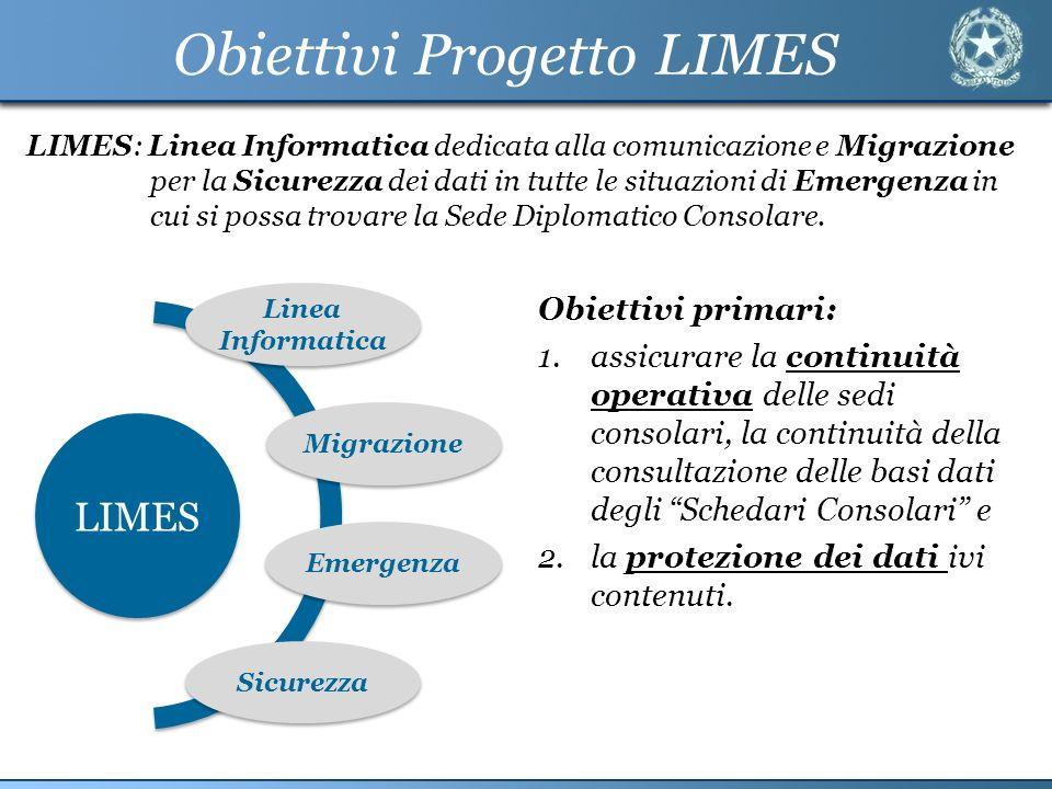 Obiettivi Progetto LIMES