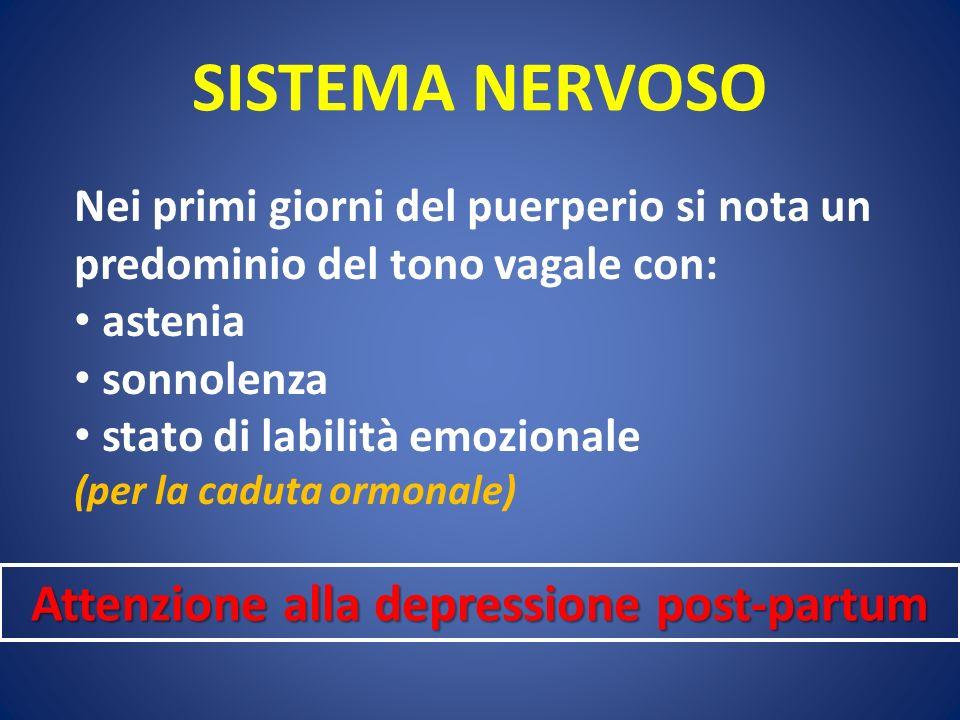 Attenzione alla depressione post-partum