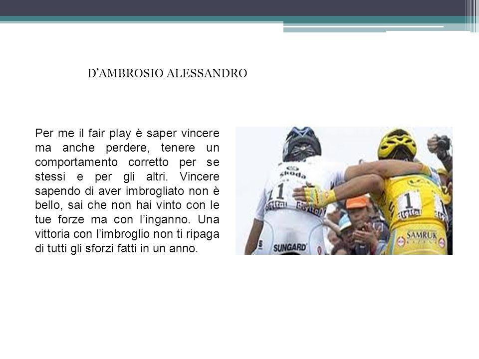 D'AMBROSIO ALESSANDRO