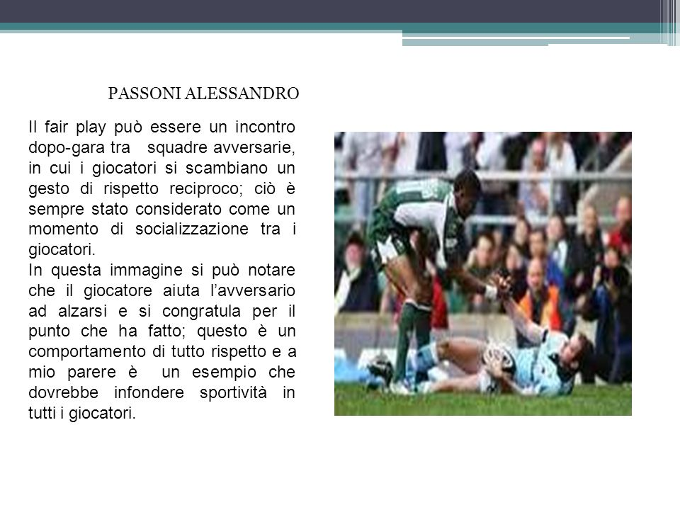 PASSONI ALESSANDRO