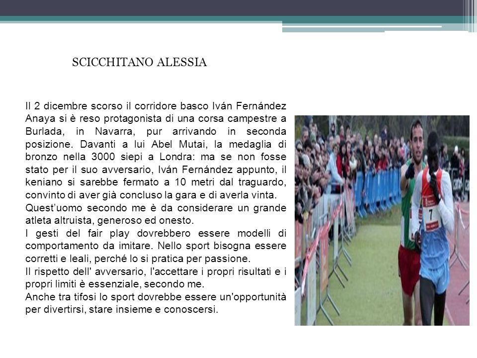 SCICCHITANO ALESSIA