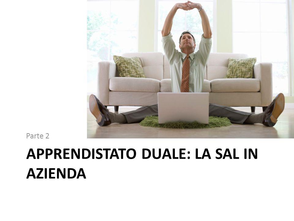 Apprendistato duale: la SAL in azienda