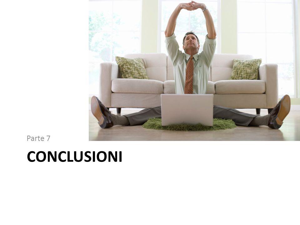 Parte 7 conclusioni