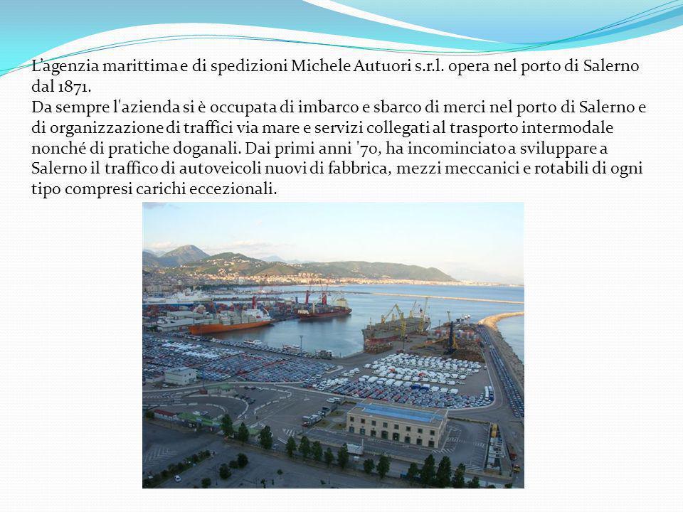 L'agenzia marittima e di spedizioni Michele Autuori s. r. l