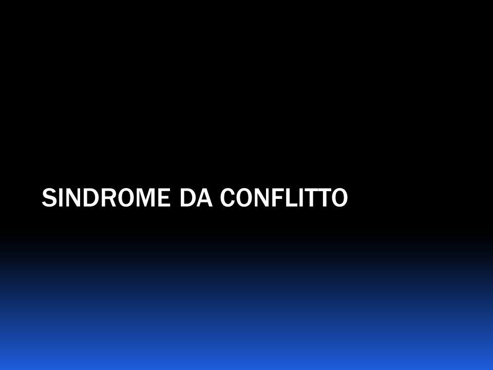 SINDROME DA CONFLITTO