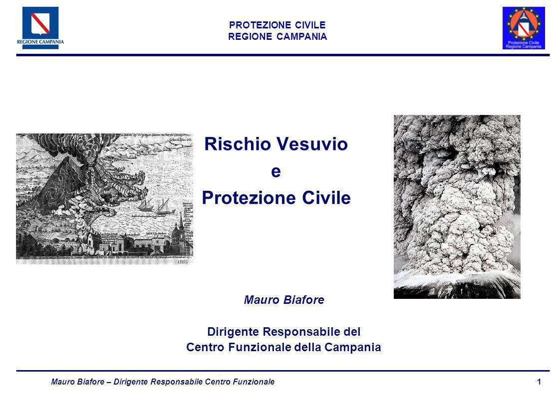 Rischio Vesuvio e Protezione Civile