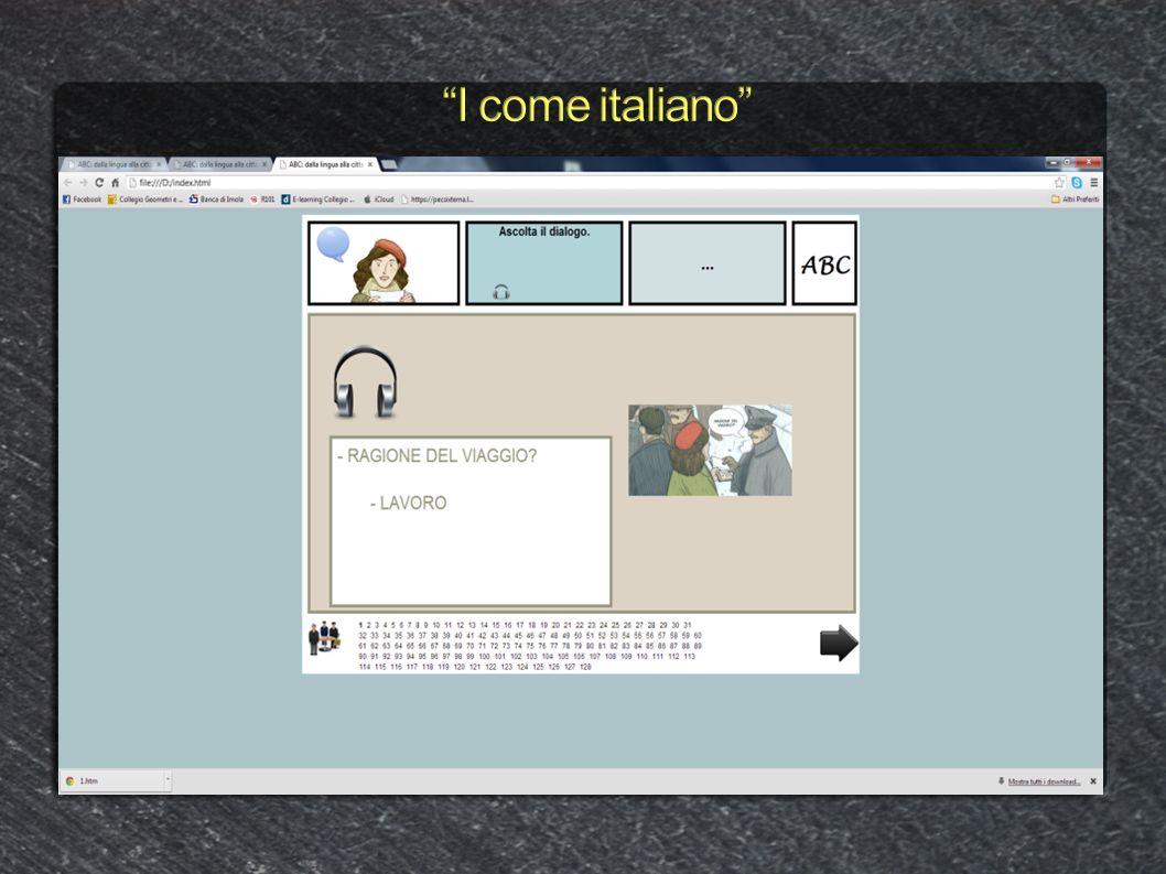 I come italiano