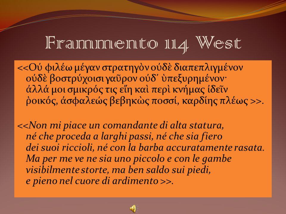 Frammento 114 West
