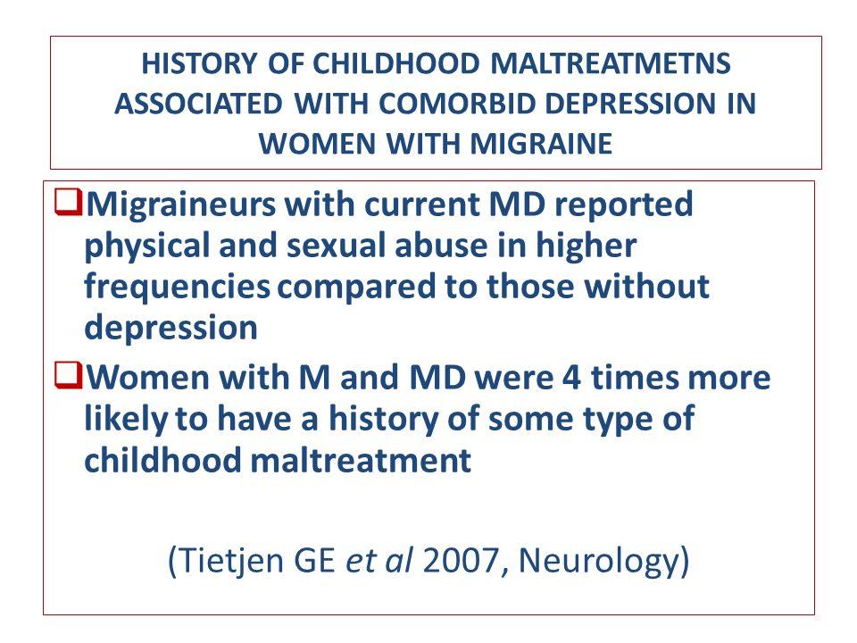 (Tietjen GE et al 2007, Neurology)
