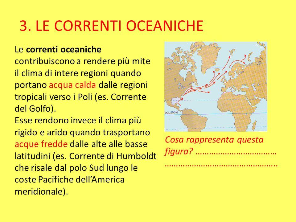 3. LE CORRENTI OCEANICHE