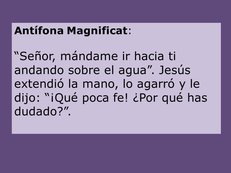 Antífona Magnificat: