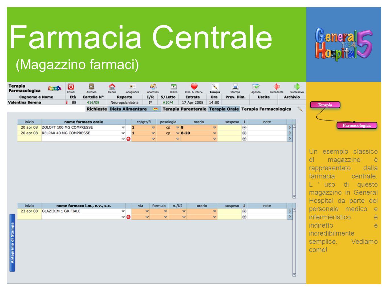 Farmacia Centrale (Magazzino farmaci)