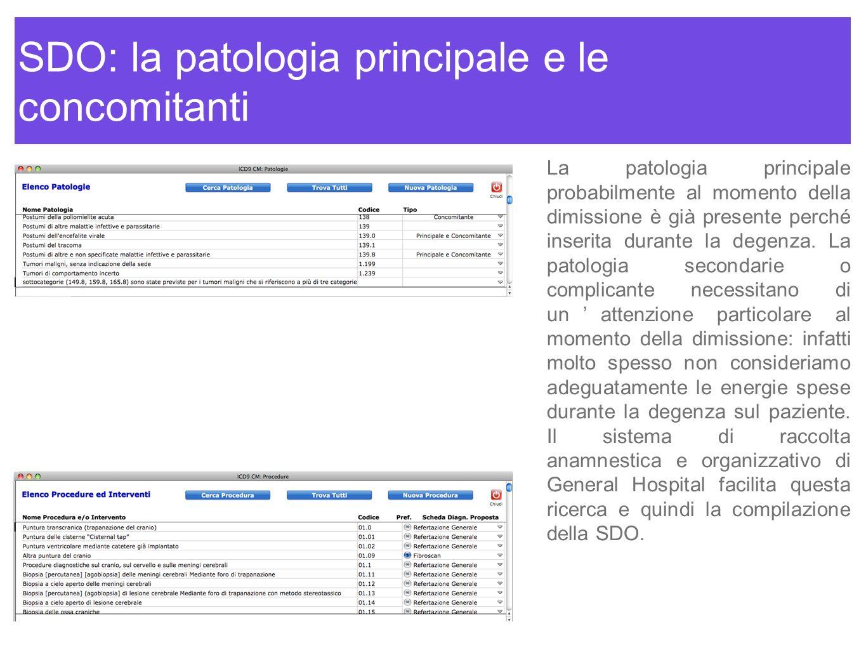 SDO: la patologia principale e le concomitanti