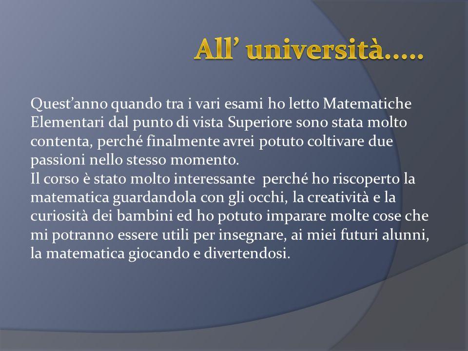 All' università.....