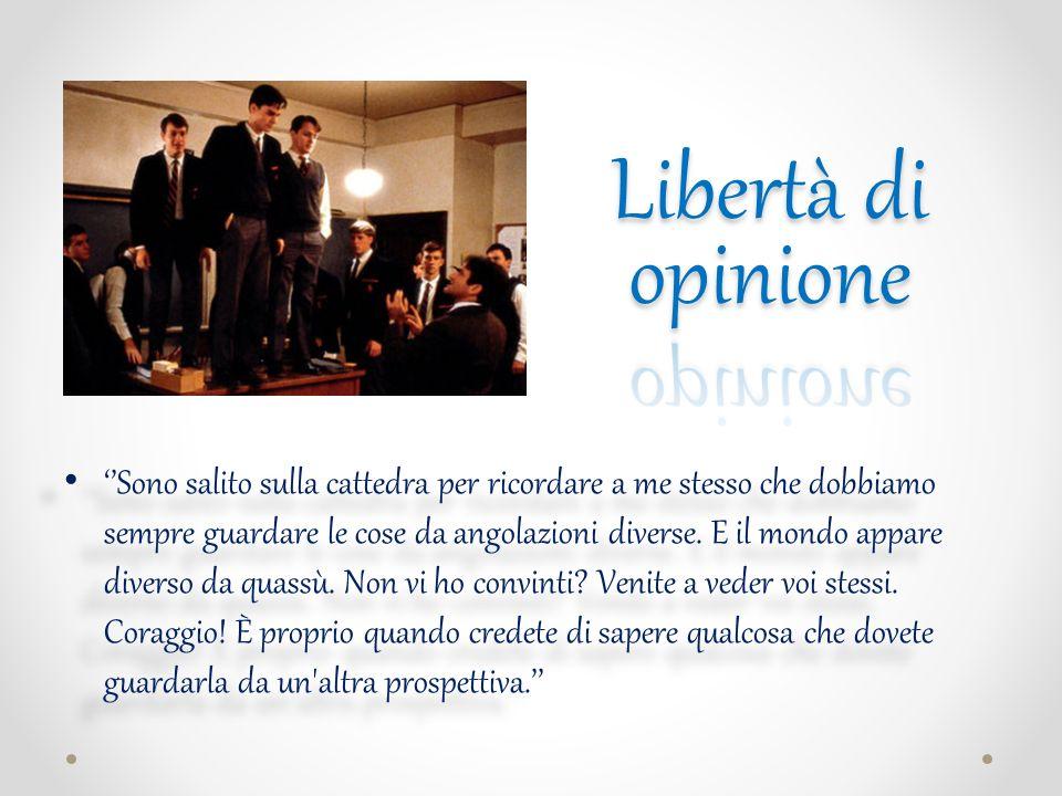 Libertà di opinione