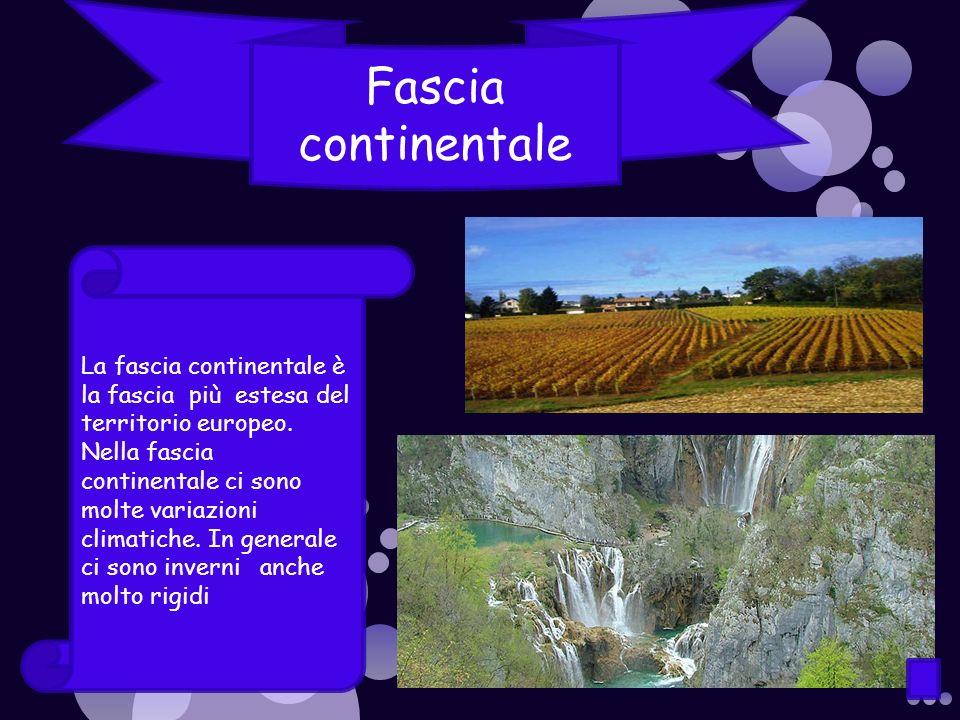 Fascia continentale