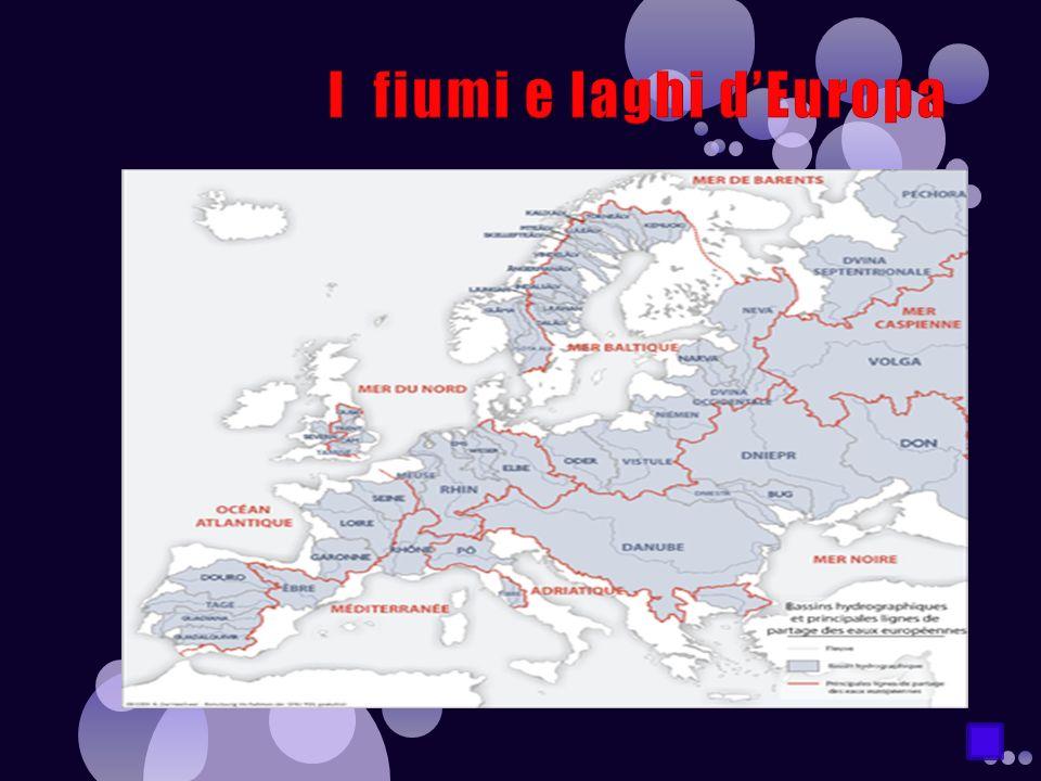I fiumi e laghi d'Europa