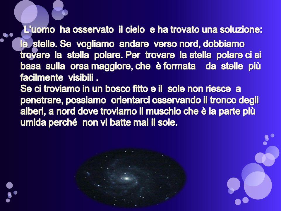 L'uomo ha osservato il cielo e ha trovato una soluzione: le stelle