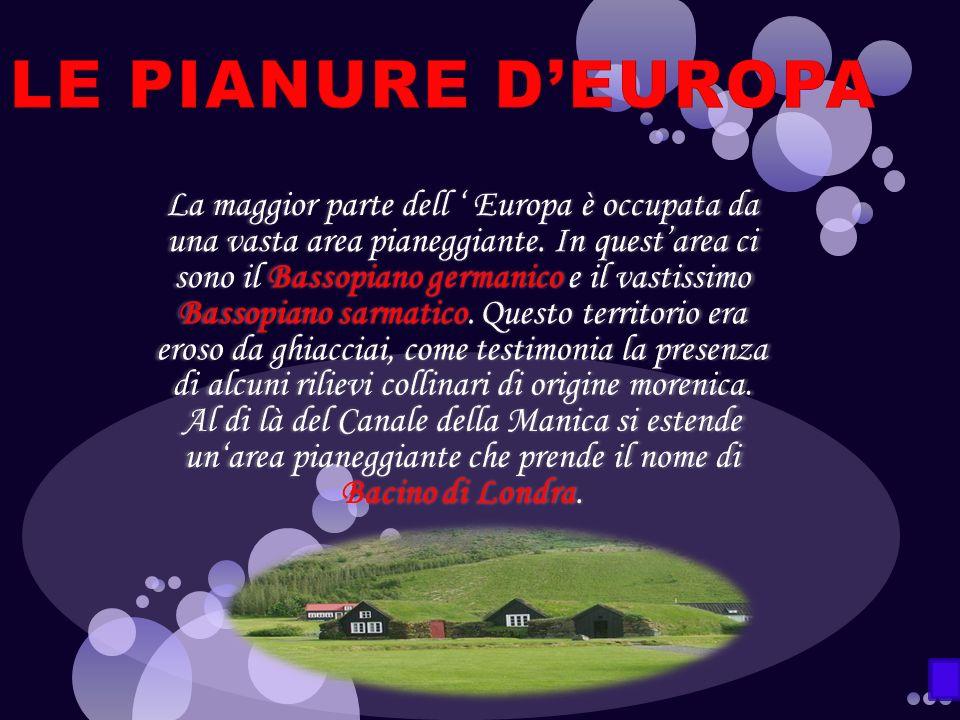 LE PIANURE D'EUROPA