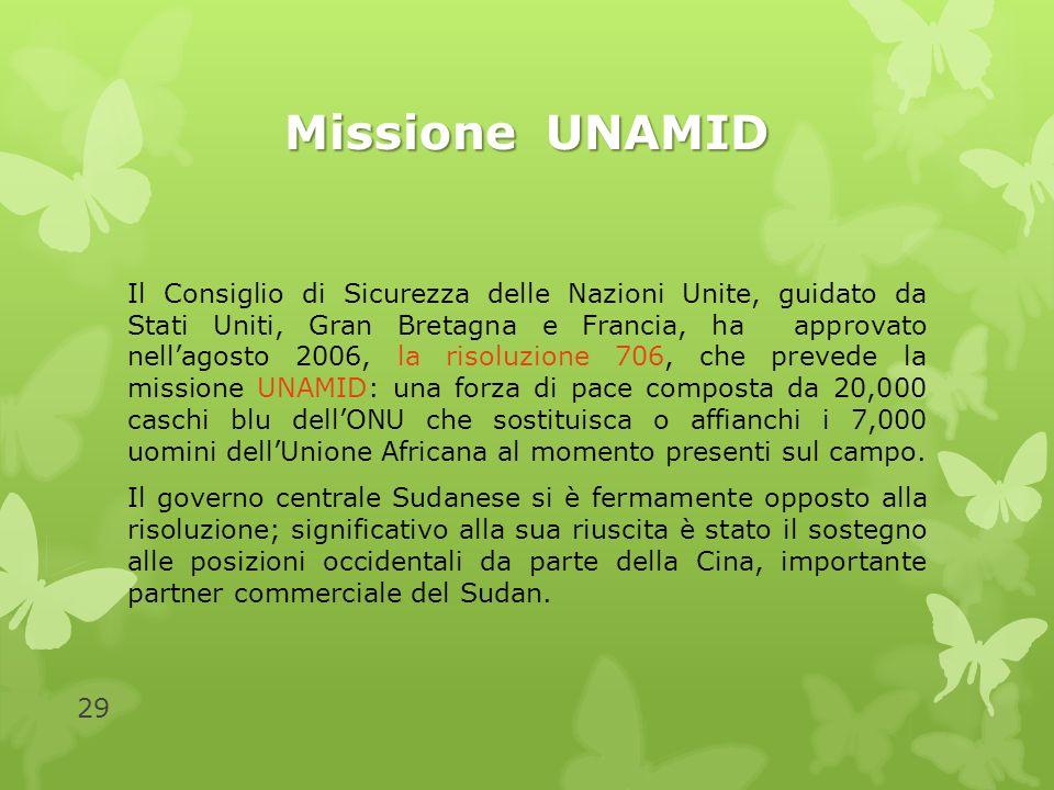 Missione UNAMID