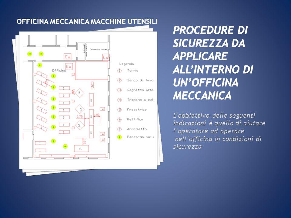 OFFICINA MECCANICA MACCHINE UTENSILI