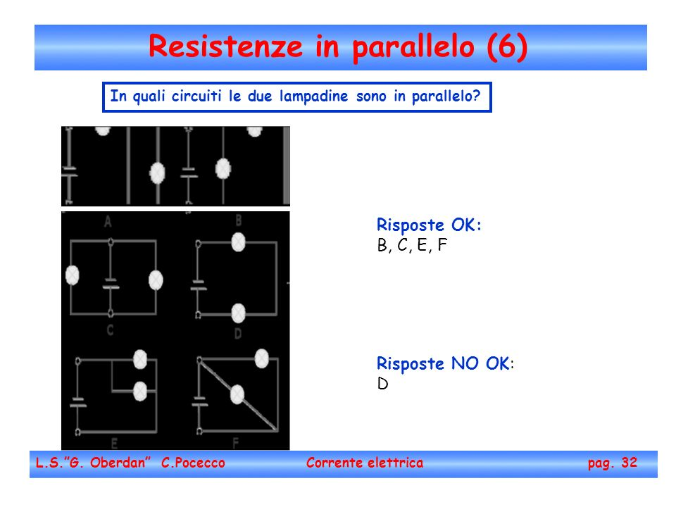 Resistenze in parallelo (6)