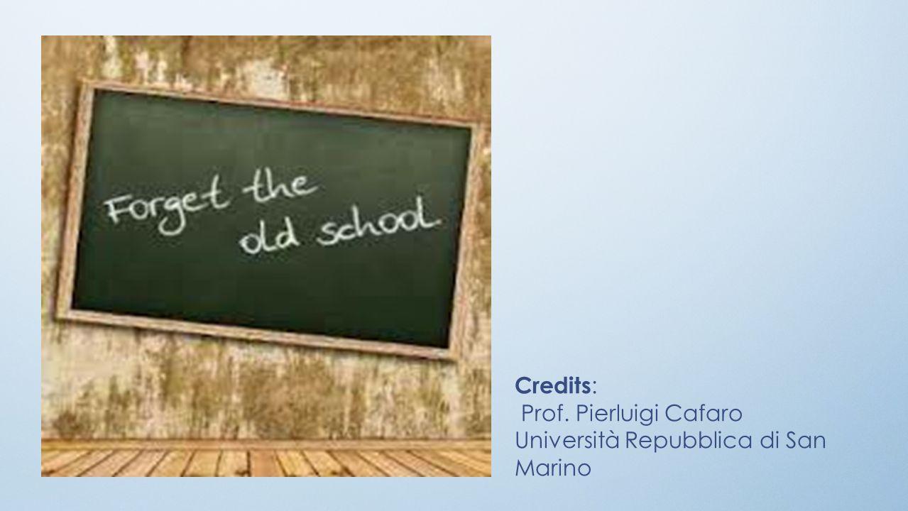 Credits: Prof. Pierluigi Cafaro Università Repubblica di San Marino