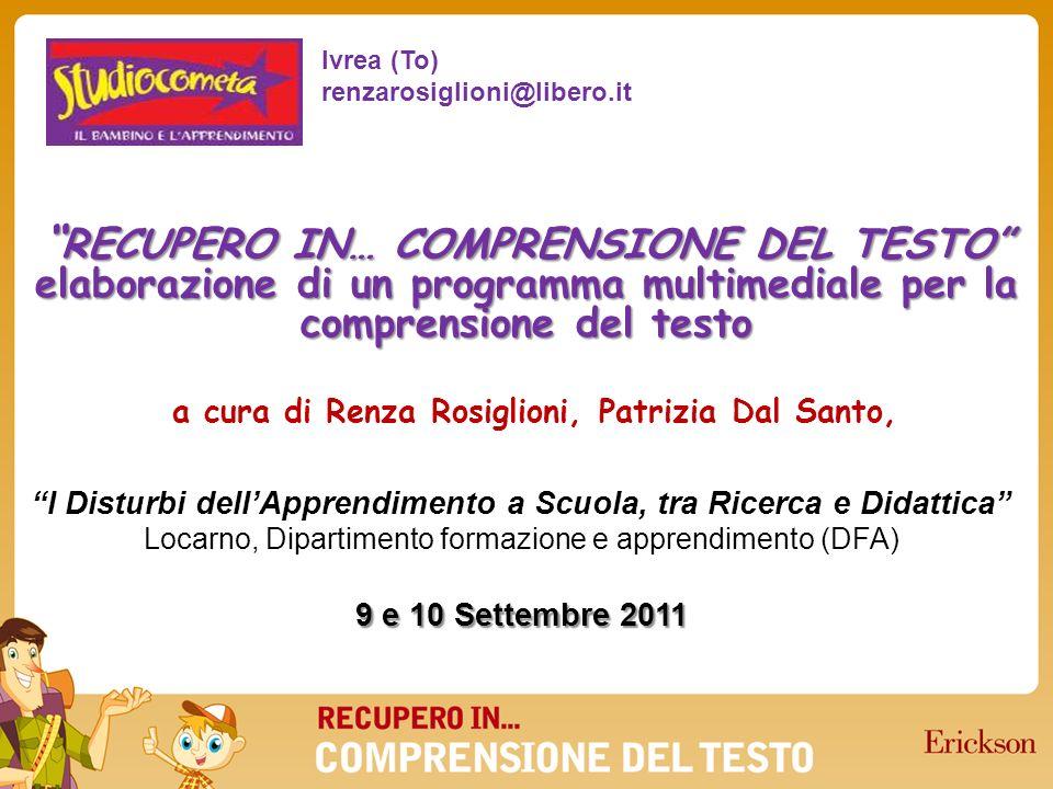 a cura di Renza Rosiglioni, Patrizia Dal Santo,