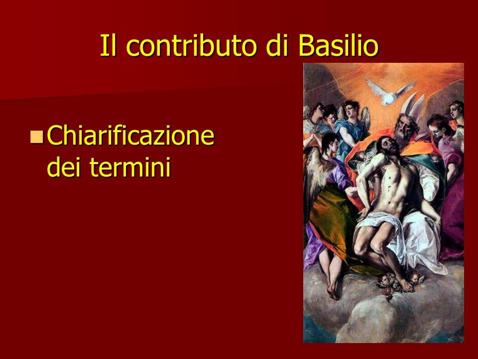 Il contributo di Basilio