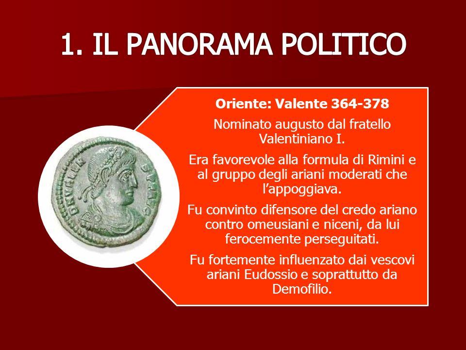 Nominato augusto dal fratello Valentiniano I.